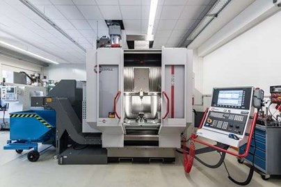 New 5-axes processing centre Hermle C20U