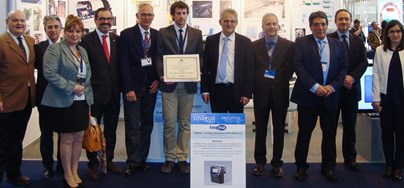 Innovation award at the SMAGUA trade fair in Zaragoza, Spain