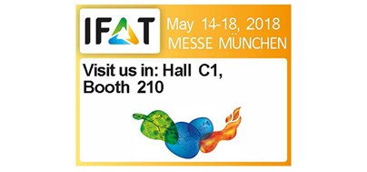 MEET US AT THE IFAT IN MUNICH 2018!