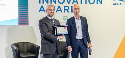 Innovation award at the H2O trade fair in Bologna, Italy