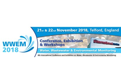 MEET US AT THE WWEM - Water, Wastewater and Environmental Monitoring Conference 2018 in Telford, England!